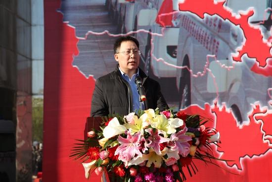 10、国家卫生计生委财务司副司长樊挚敏出席活动并讲话