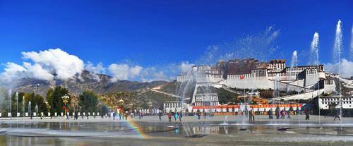 德记者走西藏:空气清新洁净