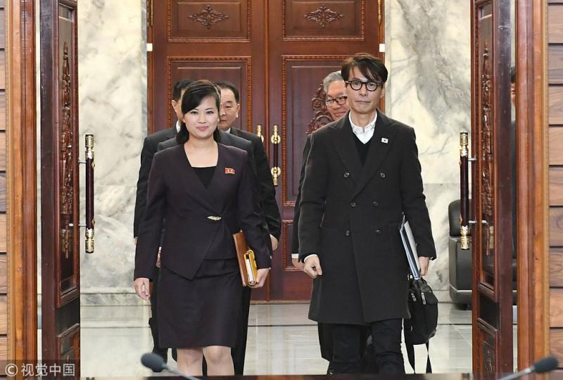 韩国艺术团赴平壤唱《月亮