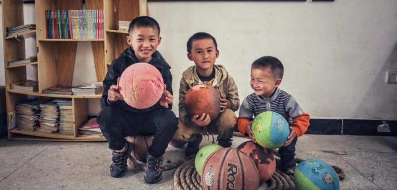查老师所教的三名孩子。